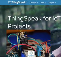 This video will teach you how create ThingSpeak Channels for IoT Projects. You will also learn how to post and view data on ThingSpeak charts. Esp8266 Projects, Iot Projects, Electronics Projects, Esp8266 Wifi, Electrical Projects, Arduino, Channel, App, Teaching