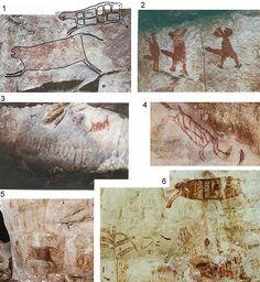 arte rupestre Sierra Chiribiquete Colombia