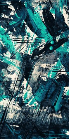 Teal And Black Abstract Painting · Free Stock Photo Graffiti Wallpaper Iphone, Camo Wallpaper, Graphic Wallpaper, Colorful Wallpaper, Galaxy Wallpaper, Wallpaper Backgrounds, Glasses Wallpaper, Black Abstract, Abstract Images