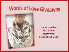 Words of Love - Emily Dickinson Text Infinity Scarf Giveaway