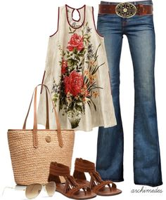 """Summer of Love"" by archimedes16 ❤ liked on Polyvore"