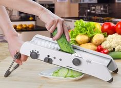 LEKOCH Manual Vegetable Cutter Mandoline Slicer