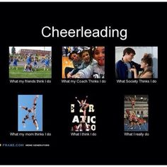 Everyone's view of a cheerleader