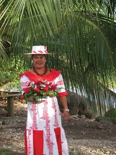 """A lady after church in Raiatea. From chapter 3 of my forthcoming book, """"Sailing the South Pacific."""""""