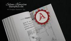 Stamp 4 fun with Selene Kempton: Simple Magnetic Bookmark Tutorial Paper Bookmarks, Magnetic Bookmarks, Easy Paper Crafts, Scrapbook Paper Crafts, Paper Crafting, Scrapbooking, Bookmark Craft, Book Markers, Craft Tutorials