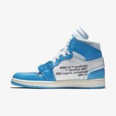 sports shoes 5b9b1 ab799 Off-White x Air Jordan 1 UNC Blue - Grailify Sneaker Releases Blau, Jordan