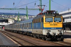 Net Photo: Hungarian State Railways (MÁV) at Budapest, Hungary by Tomas Orlik Train Journey, Bahn, Budapest Hungary, Trains, Vehicles, Europe, Car, Train, Vehicle
