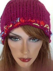 Beanie Slouch Hat Beret Hand Knit Designer Fashion Bohemian Hip Winter Ski | eBay