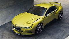 Yellow fever: it's the BMW 3.0 CSL Hommage - BBC Top Gear
