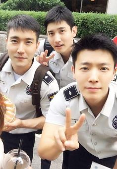 Siwon, Changmin, & Donghae!