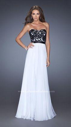 White 2014 Prom Dress By 20068 La Femme