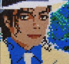 Smooth Criminal - Michael Jackson perler beads