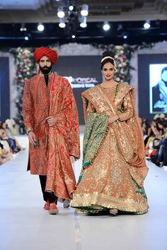 A stellar line up on all three days of PLBW 2015 ensured tightly edited and smooth showcases with very little cause for critique. Even the new designer talents presented laudable capsules with Mahe… Indian Attire, Indian Wear, Indian Outfits, Ali Xeeshan, Bridle Dress, Asian Fashion, Formal Fashion, Women's Fashion, Project Runway
