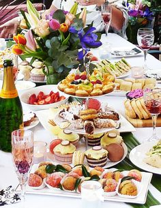 Host a high tea for you & your girlfriends