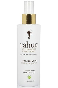 Here's How To Score The Top Hairstyles From 3 L.A. Runway Stars: This all-natural, organic, alcohol-free hair spray won't only keep your strands in place, but it also revitalizes the scalp. And the benefits don't end there: The lavender and eucalyptus essence will help you bliss out before that office holiday party.     Rahua Voluminous Hair Spray