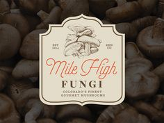 Mile High Fungi logo by Andrew Hoffman