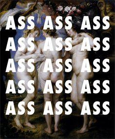 flyartproductions:  THE THREE (GR)A$$ES The Three Graces (1639), Peter Paul Rubens / Dance (A$$) Remix, Big Sean ft. Nicki Minaj