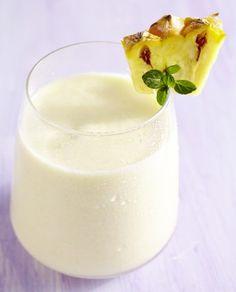 Ananas-Kokos-Smoothie - Rezept