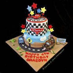 Awesome Cars cake idea.