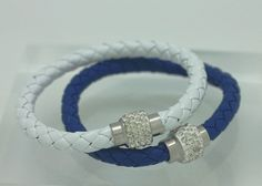 Indianapolis Colts Bling Bracelet -Support your team with a little bling. Perfect for all your gal friends! You will receive the set of two bracelets. Sparkling rhinestones, two colors of leather only $10 and FREE SHIPPING!
