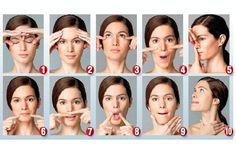 Nossos músculos faciais requerem de ginástica facial para conservar sua elasticidade e firmeza e prevenir a flacidez e a aparição precoce de rugas.