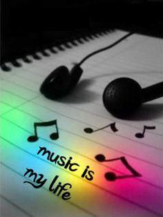 Y tú eres mi música, entonces...Eres mi vida. -Lya-