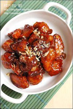 Korean Sweet Potato, Easy Cooking, Cooking Recipes, Korean Side Dishes, Asian Recipes, Healthy Recipes, K Food, China Food, Korean Food