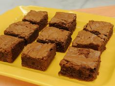 These are really yummy! Elsa's Brownies recipe from Marcela Valladolid via Food Network