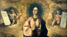inmaculada...Pero la Inmaculada Concepción se deduce de la Biblia cuando ésta se interpreta correctamente a la luz de la Tradición Apostólica.  El primer pasaje que contiene la promesa de la redención (Genesis 3:15) menciona a la Madre del Redentor. Es el llamado Proto-evangelium, donde Dios declara la enemistad entre la serpiente y la Mujer. Cristo, la semilla de la mujer (María) aplastará la cabeza de la serpiente. Ella será exaltada a la gracia santificante que el hombre había perdido...