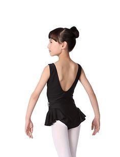 Dacewear Spandex Sleeveless Ballet Dress For Kids