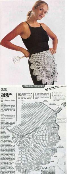 crochet apron? sure! why not? ;-)