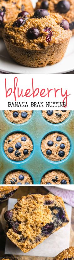 An easy recipe for tender bran muffins full of sweet banana flavor & juicy blueberries. They're perfect for quick & healthy breakfasts or snacks!  Throughout my childhood, my mom baked fairly infrequently. She pulled out her large metal mixing bowl and the bag of chocolate chips about once a month, at most, to make …