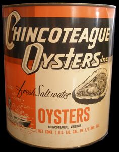 Another oyster tin from VA.