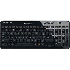 Logitech Wireless Keyboard K360 - Glossy Black