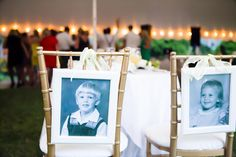 Pictures of the bride and groom at young ages! | Nancy Anderson Cordell Photography