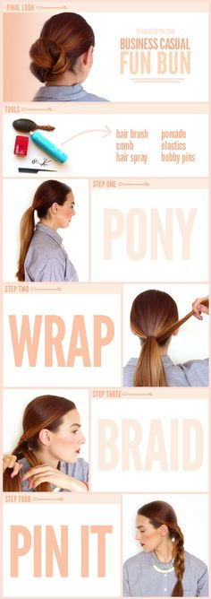 beauty tutorials, fun bun, hairstyle tutorials, latest hairstyles, diy hair, hair tutorials, the beauty department