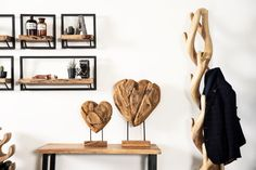Every Wooden Heart Sculpture is handmade from teak wood. Therefore no 2 pieces are exactly the same. Because they are handmade, small imperfections can occur. However, this makes every Wooden Heart Scultpure a unique one with an authentic character! Wooden Hearts, Teak Wood, Hart, Im Not Perfect, Sculpture, Handmade, Unique, Nature, Character