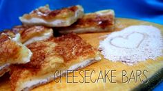 Cheesecake Bars (tvarohové kostky) ~ Kristina Čechová