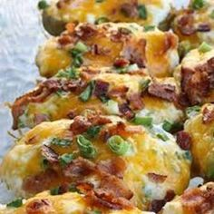 """Twice Baked Mashed Potatoes 