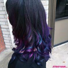 magical oil slick like hair color