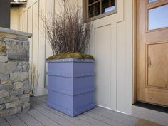Dream Home 2012: Make A Planter Box