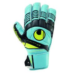 Uhlsport Youth Eliminator Soft SF Soccer Goalkeeper Glove Goalie Gloves, Soccer Store, Goalkeeper, Bart Simpson, Minions, Sports, Youth, Yellow, Black