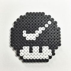 Nike mushroom hama beads by Molly & Selma