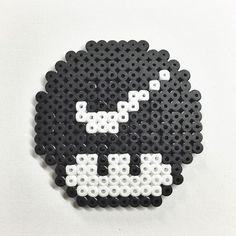 Nike mushroom hama beads by Molly & Selma