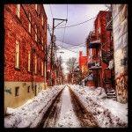 Jm les ruelles de #montreal. #quebec #hiver #ruelle #instagram #photography #photo