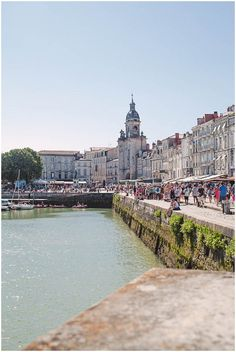Harbour in La Rochelle | Image by Christina Sarah Photography
