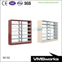 china wooden protector school library furniture equipment 6 shelves