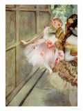 Learn more about Dancer against a stage flat, Edgar Degas - oil artwork, painted by one of the most celebrated masters in the history of art. Swing Dancing, Girl Dancing, Degas Dancers, Degas Paintings, Ballet Painting, Stage, Art For Sale Online, Poster Prints, Art Prints