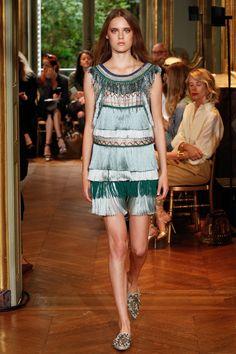 Alberta Ferretti Limited Edition Fall 2016 Couture Fashion Show - Tia Brandsma