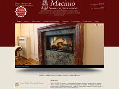 Web site de prezentare de servicii si produse seminee, marmura, etc. macimo.ro